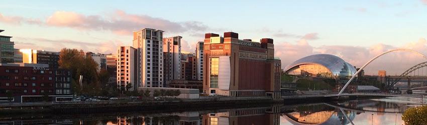 Gateshead Quayside by Anthony Karapetrides, Transcendit Gateshead