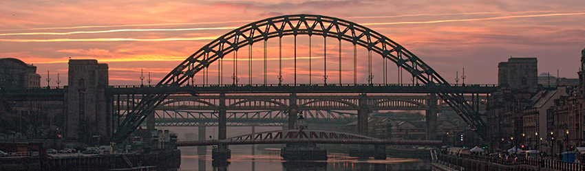 Tyne Bridge in Newcastle-upon-Tyne, by Chris Mallon - IT Support Engineer