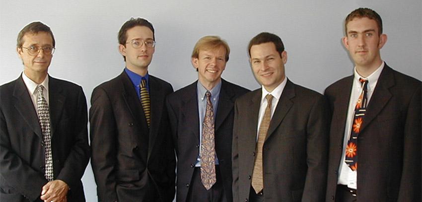 Picture of Transcendit's directors back in 2000